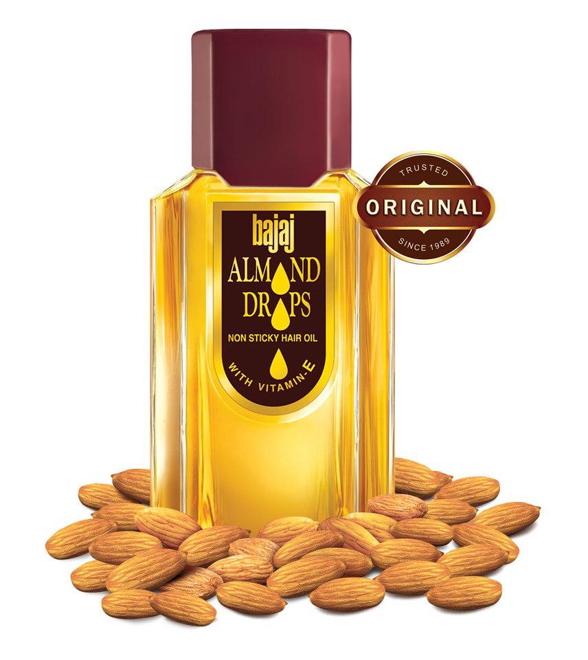 Bajaj Almond Drops Hair Oil Natural Growth 200ml