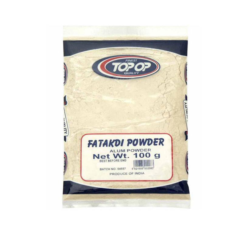 100g Alum / Fatakdi Powder Aluminium Potassium Sulphate Anti