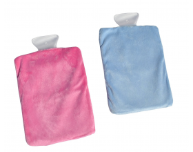 Reusable Hot & Cold Ice Gel Packs Hot Water Bottle Shape with Cover Microwavable