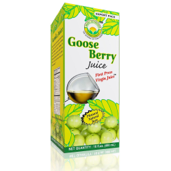 Herbal Amla (Indian Gooseberry) Juice Vitamin C Ulcers Hair Growth Immune System
