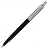 Parker Jotter Standard Ballpoint Ball Pen Stainless Steel Black (Blister Pack)