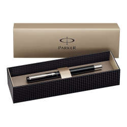Parker Vector Stainless Steel Fountain Ink Pen Black with Gift Box