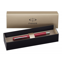 Parker Vector Fountain Ink Pen Red, S0880981 Gift Box