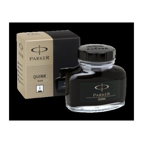 Parker Quink Ink Bottle 57ml Permanent Black S0037460