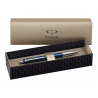 Parker Vector Standard Blue Ballpoint Ball Pen Stainless Steel with Gift Box