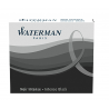 Waterman Short Size Ink Cartridges Permanent Black (Pack of 6)