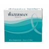 Waterman Cartridges South Sea Blue Short Size - Pack of 6