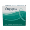 Waterman Ink Cartridge Refills Harmonious Green Standard Pack of 6