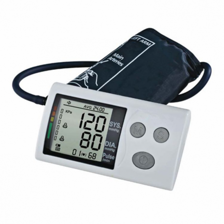 Upper Arm Digital Blood Pressure Monitor Measurement Device Machine Checker Cuff