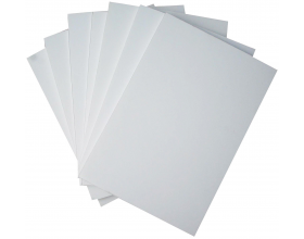 White A1 Foam Board, Foamex 5mm, 10 Packs