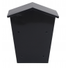 Wall Mounted Home Letter Post Mail Box Large Letterbox Mailbox Outdoor