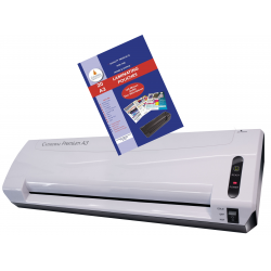 Cathedral A3 Laminator Machine with 25 Free Laminating Pouches