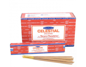 Satya Sai Baba Nag Champa Celestial Incense Sticks Box of 12