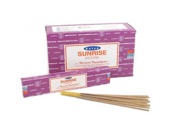 Satya Sai Baba Sunrise Nag Champa Incense Sticks Box of 12