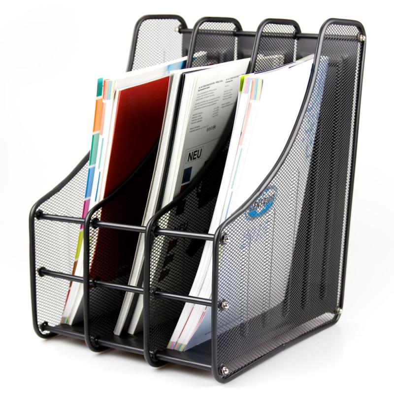 Magazine Storage Holder Document Folder Organiser Rack