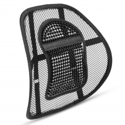 Lower Back Lumbar Support for Office Chair, Car Seat Backrest Mesh
