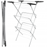 Foldable Clothes Airer Dryer Horse 3 Tier Laundry Washing Rack Indoor Outdoor